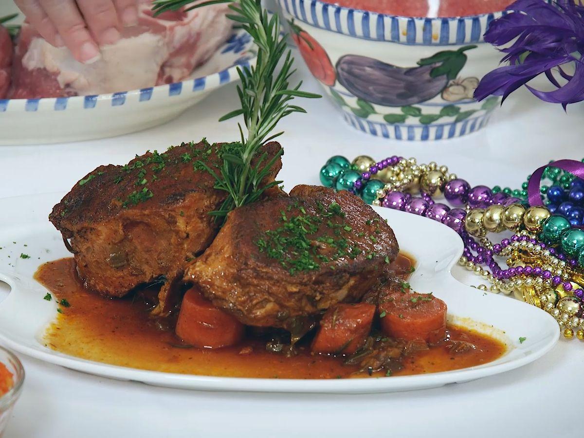 Boucherie-Day Braised Pork Chops