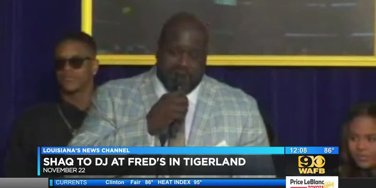 Shaq to DJ at Fred's in Tigerland