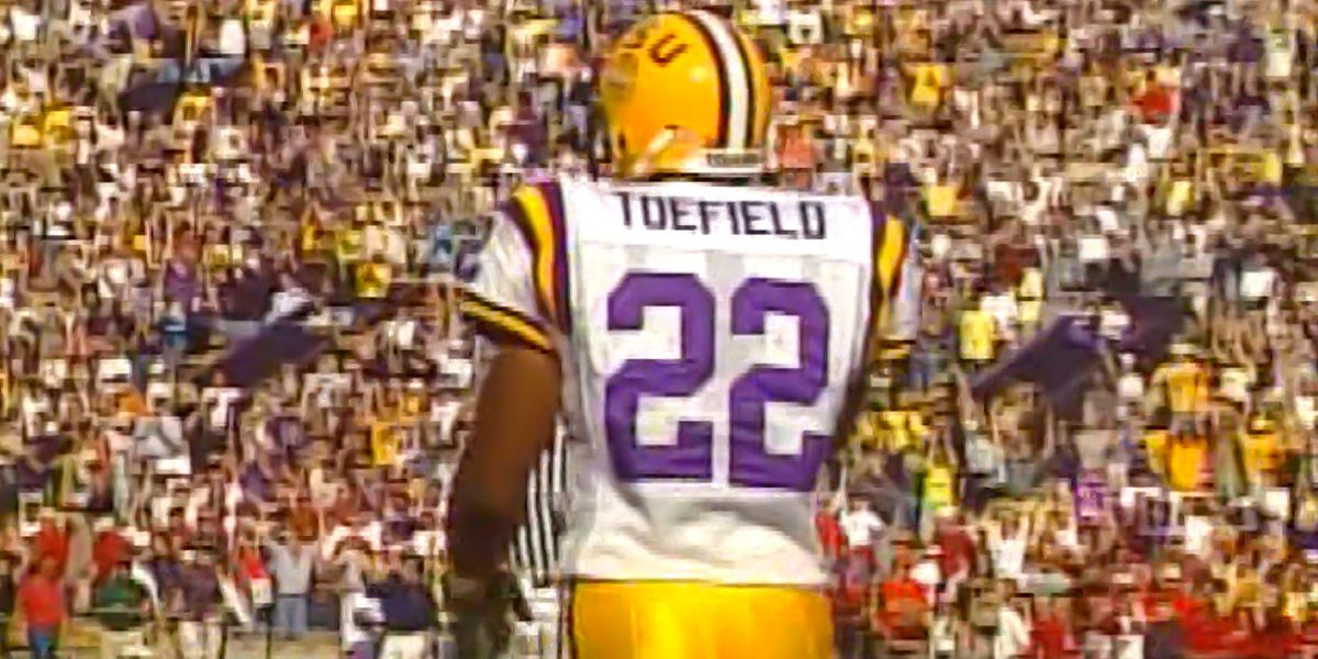 Former LSU RB LaBrandon Toefield remembers big games against Tennessee, Alabama