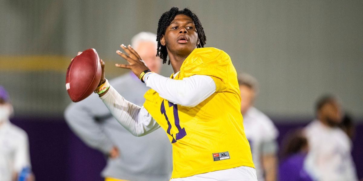 LSU prepares to face Auburn with TJ Finley possibly at QB again