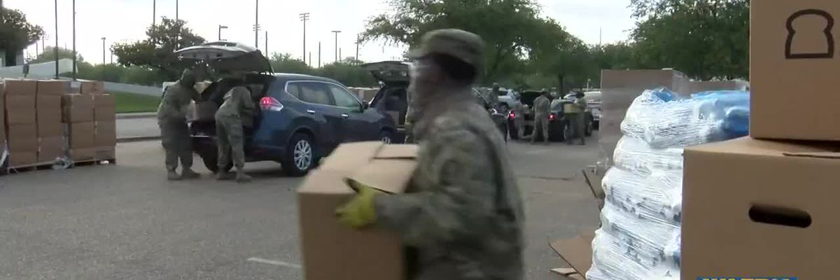 Baton Rouge first responders given socks by Feetures Socks and Soles4Souls