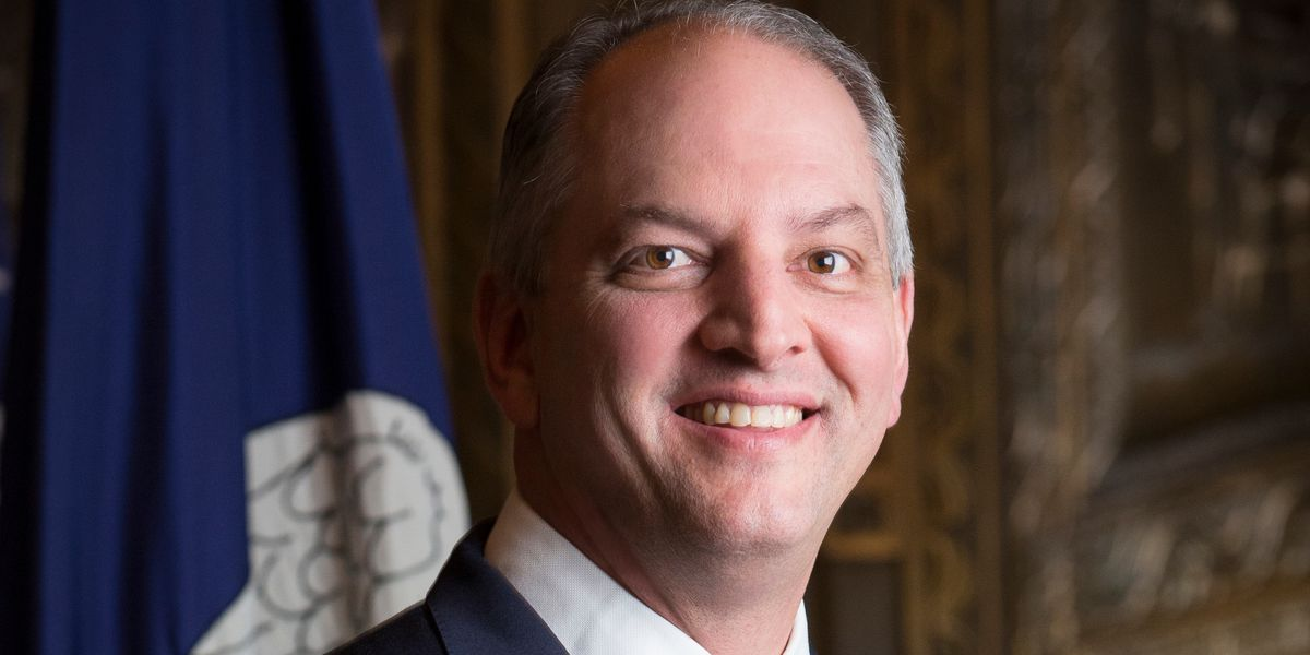 Louisiana's Democratic governor signs abortion ban into law