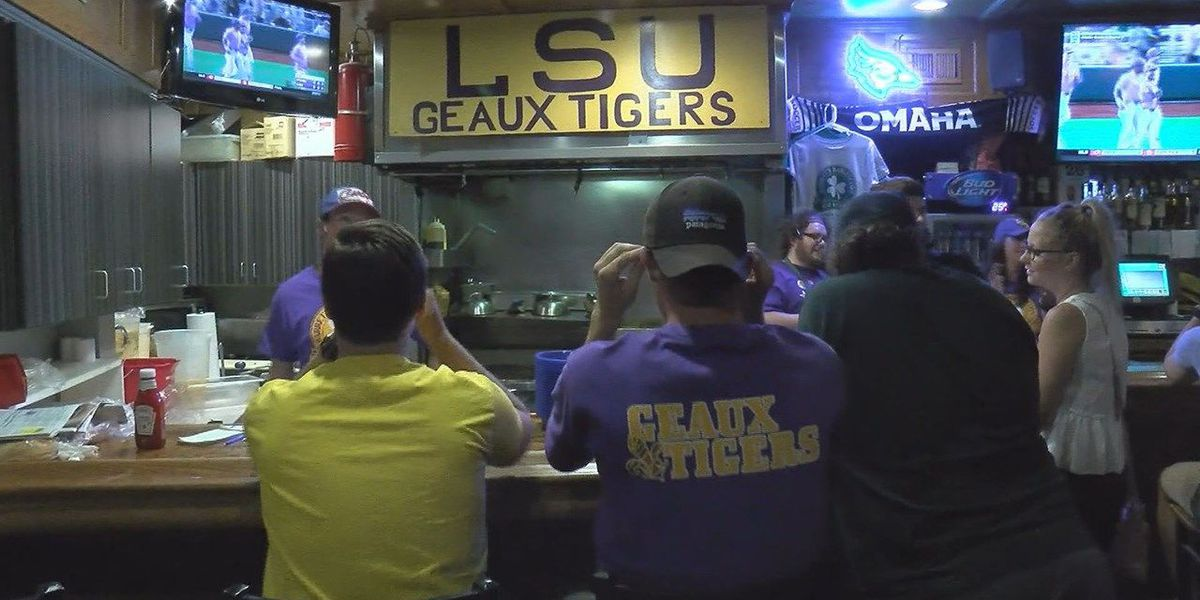 Many Omaha natives cheer for LSU at the College World Series