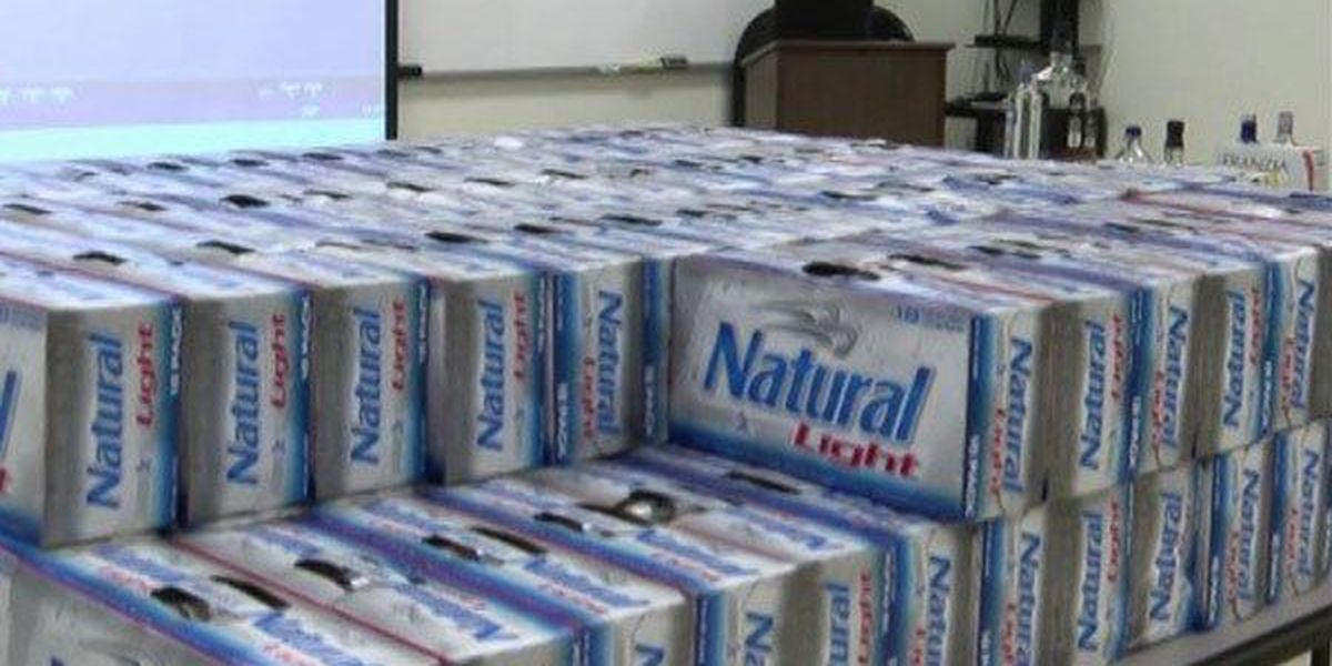 Louisiana students arrested for hauling alcohol while on Spring Break