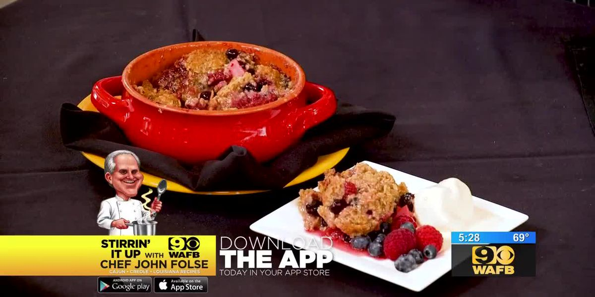 Stirrin' It Up: Apple and Mixed Berry Crumble (Oct. 25, 2018)