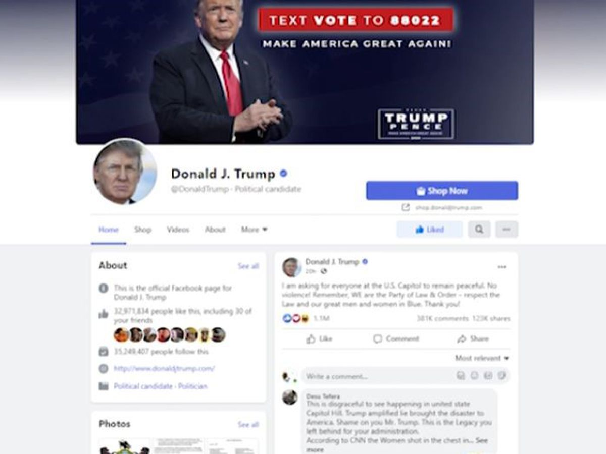Local social media expert weighs in on Trump's Facebook ban