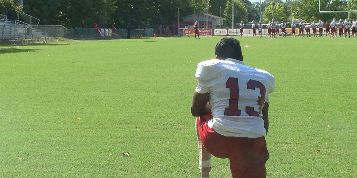 Dunham HS kicker with prosthetic legs proving anyone can tackle obstacles