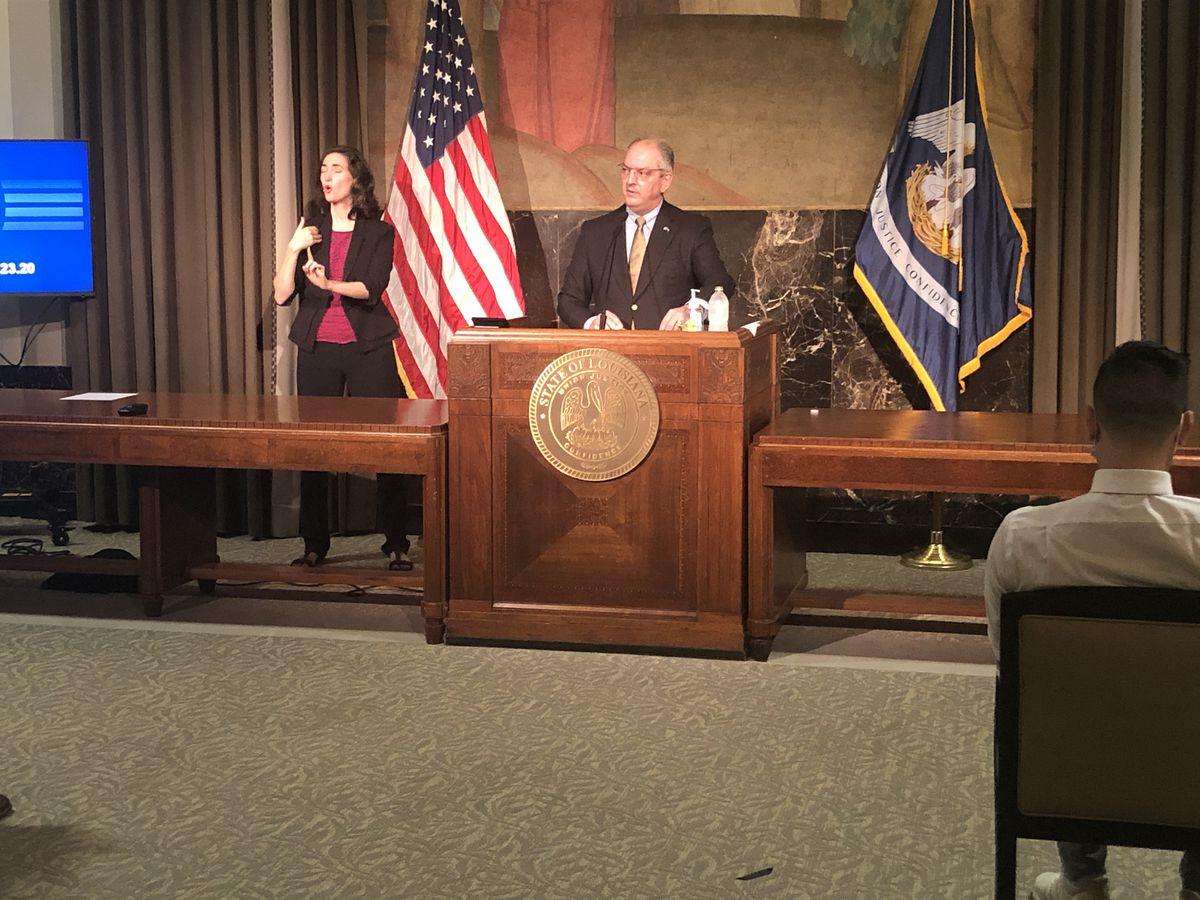 Gov. Edwards sign 34 bills into law