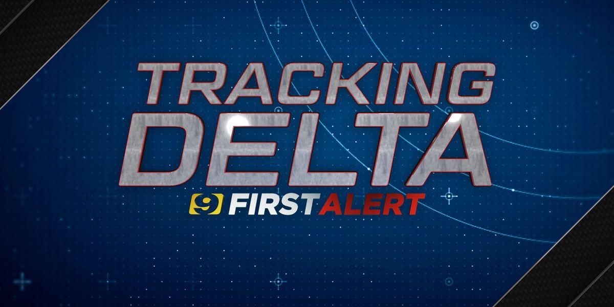 4 p.m. NHC Hurricane Delta update - Wednesday, Oct. 7