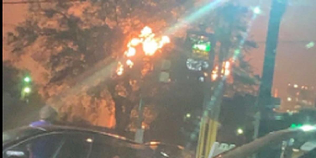 VIDEO: Explosion at Valero Meraux Refinery injures 1 worker