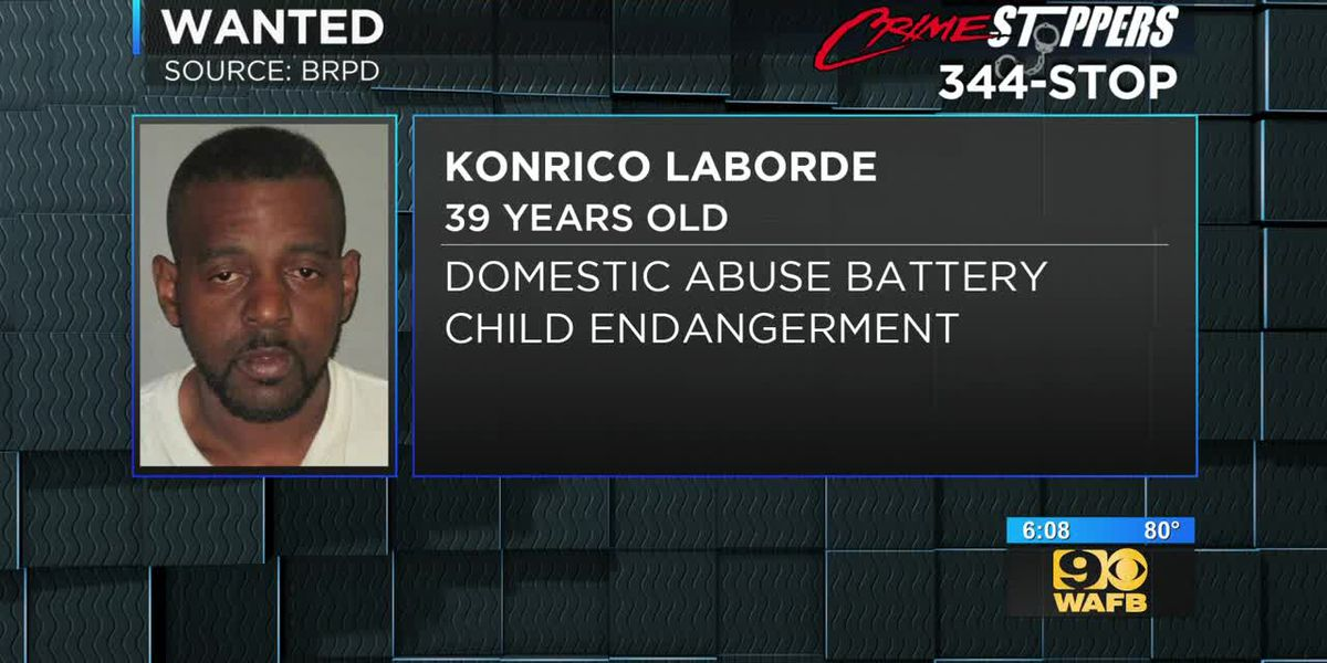 Man accused of attacking woman in presence of young child