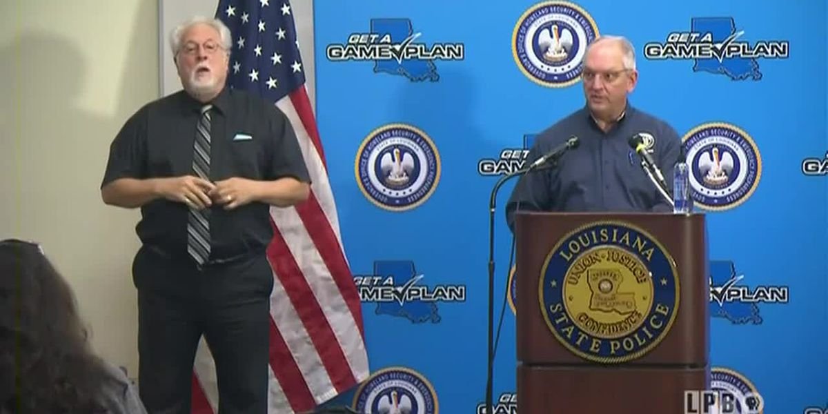 FULL VIDEO: Gov. Edwards holds news conference on Hurricane Laura recovery - Tuesday, Sept. 1, 2020