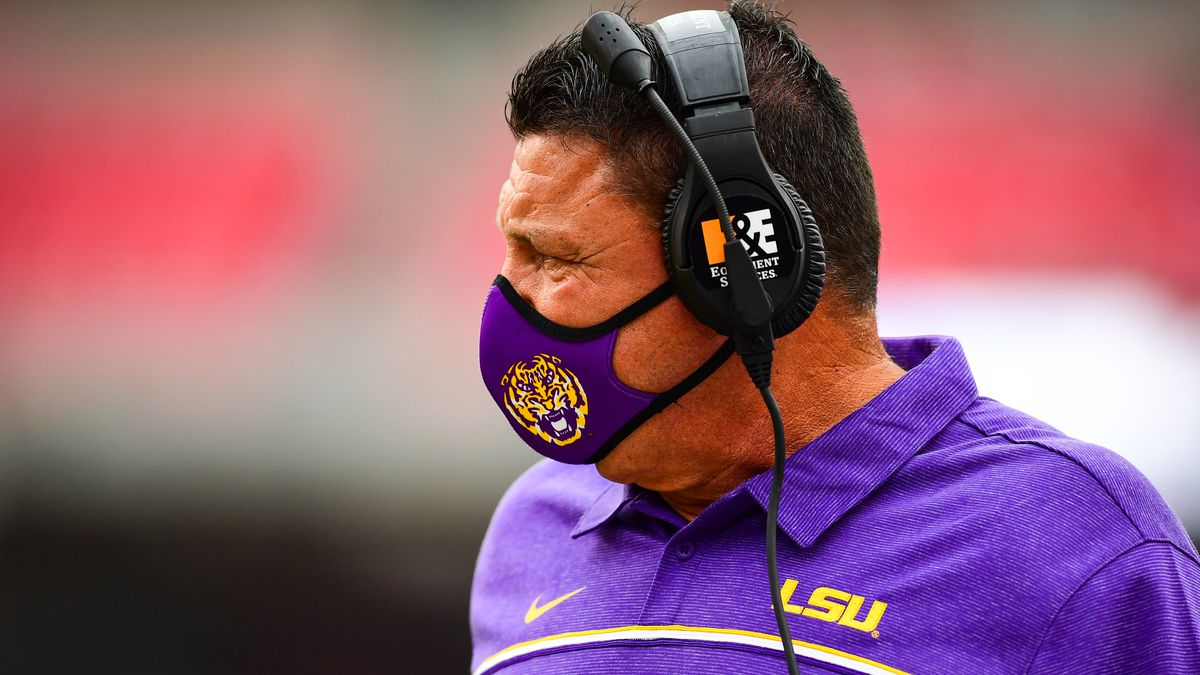 Orgeron talks about Finley's play, defense against Texas A&M, injured players, & more