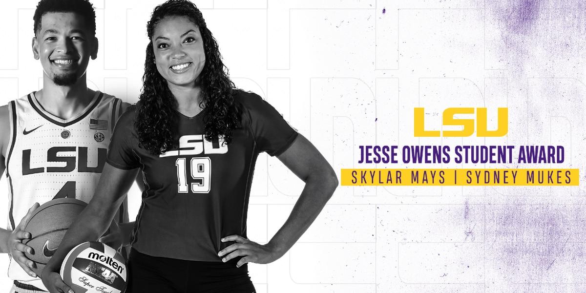 LSU student-athletes named Jesse Owens Student Award winners