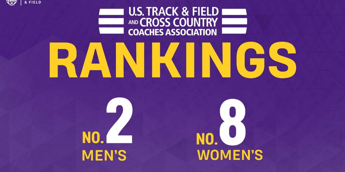 LSU track and field rankings
