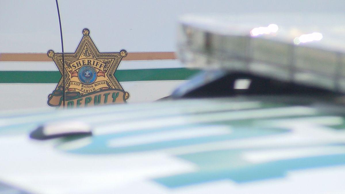 EBRSO searching for attempted car burglar