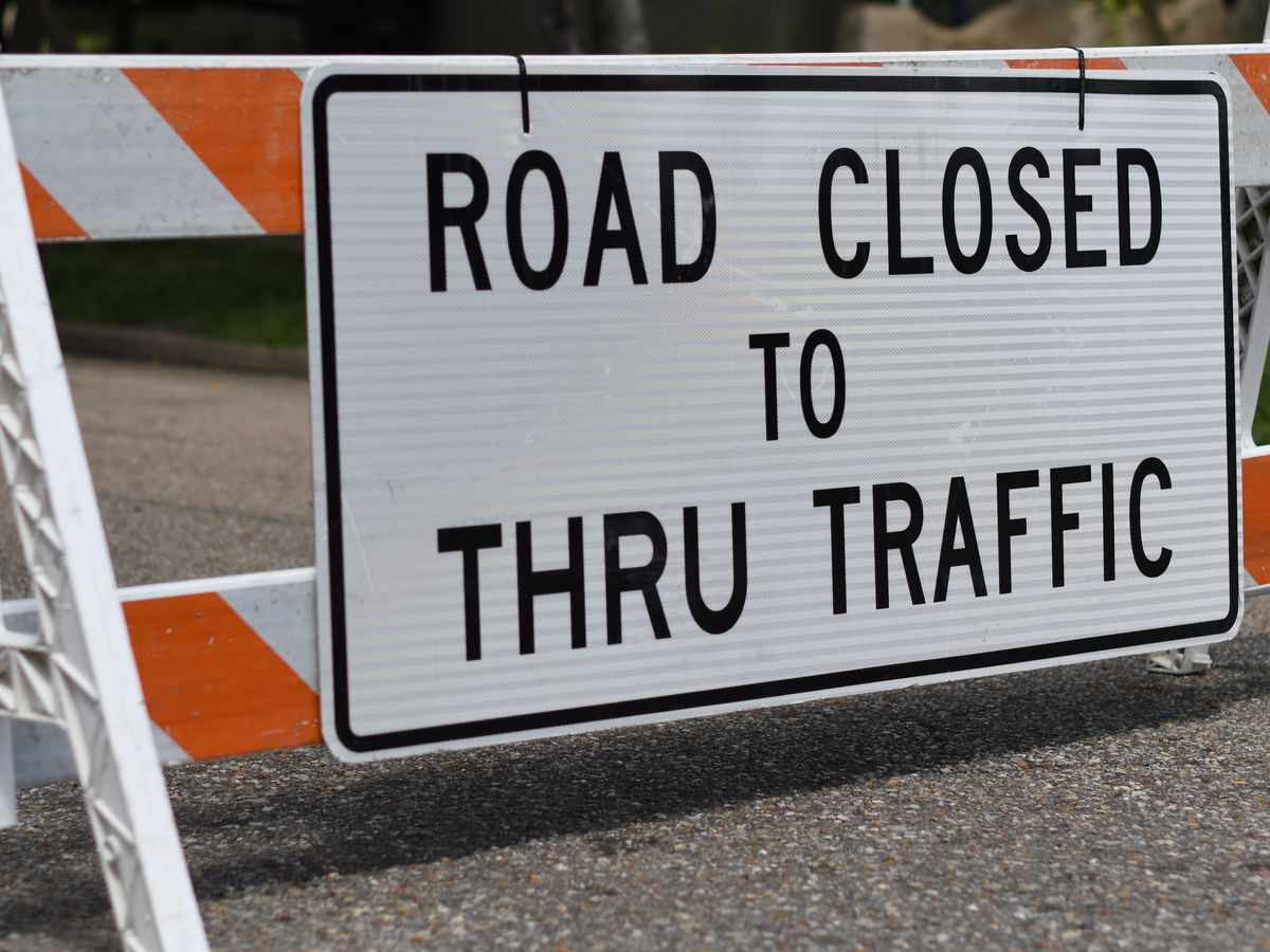 FIRST ALERT TRAFFIC: Road Closures/Lane Shifts