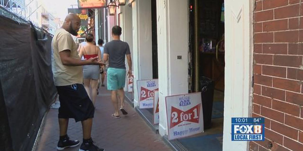 Section of Bourbon Street closed for months