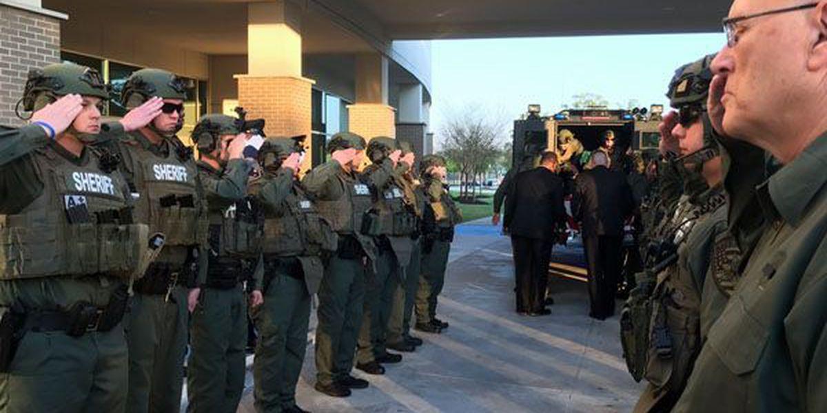 Funeral for slain deputy Lt. Shawn Anderson