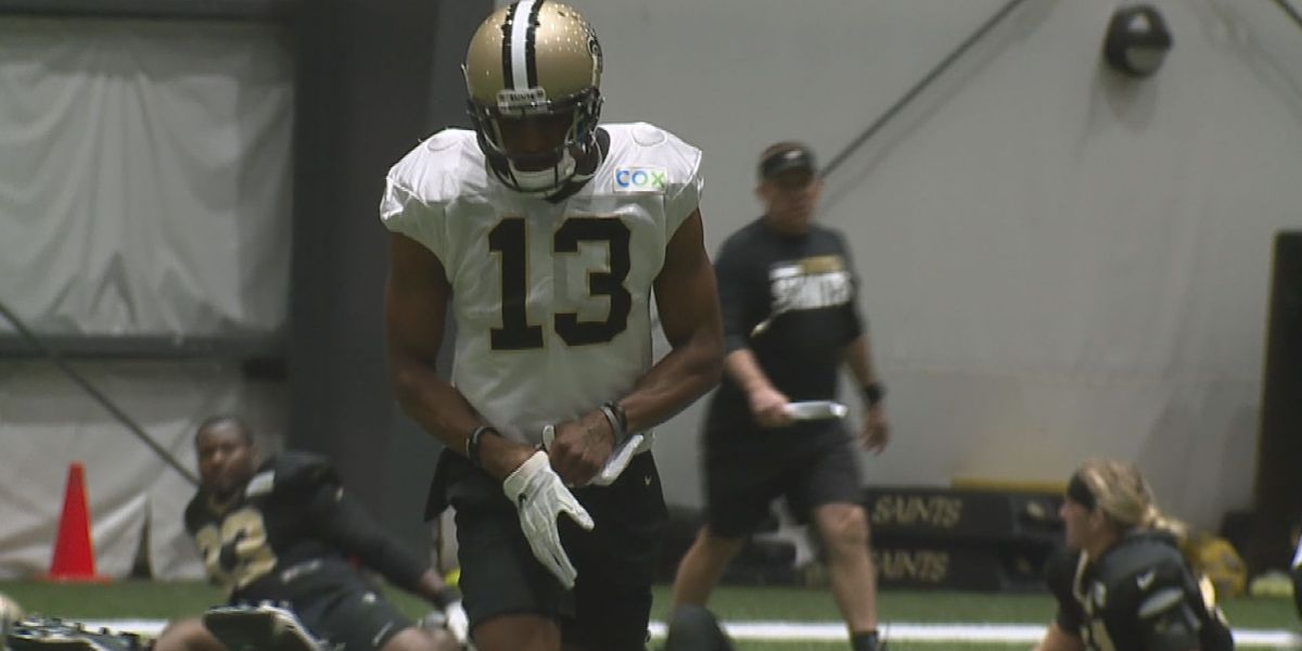 Michael Thomas and five other Saints players did not practice Wednesday