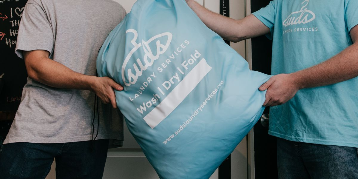 Suds to wash, fold and deliver laundry in Baton Rouge through mobile app