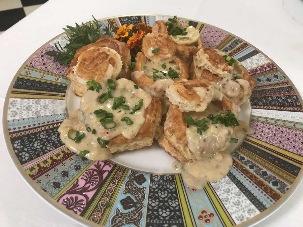 Oyster and Artichoke Patties
