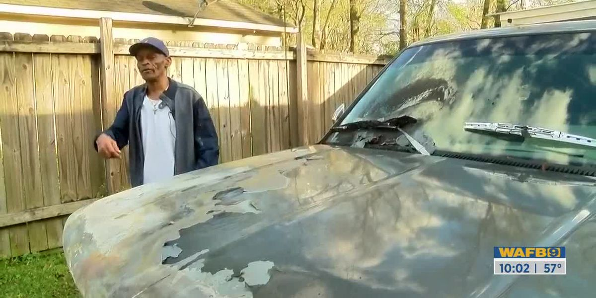Man whose truck was lit on fire says it could've been much worse