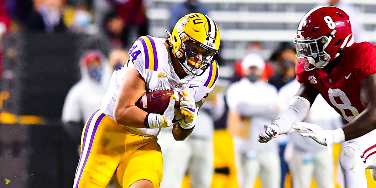 LSU FB Tory Carter announces he's not returning for another season