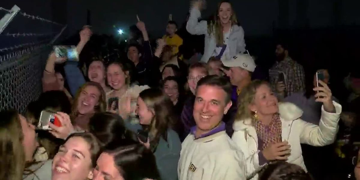 LSU fans continue to celebrate SEC championship