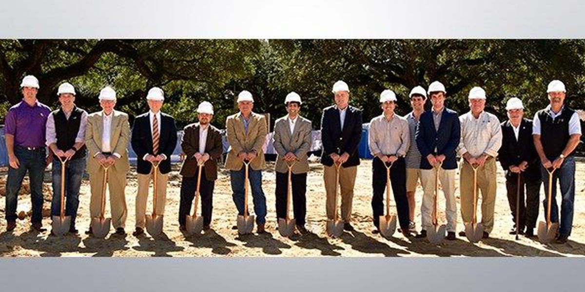 Kappa Sigma frat at LSU breaks ground on new house