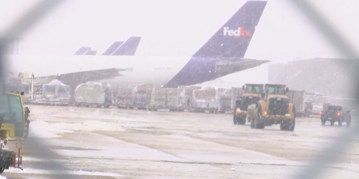 Could winter weather across nation impact COVID-19 vaccine shipments to Louisiana?