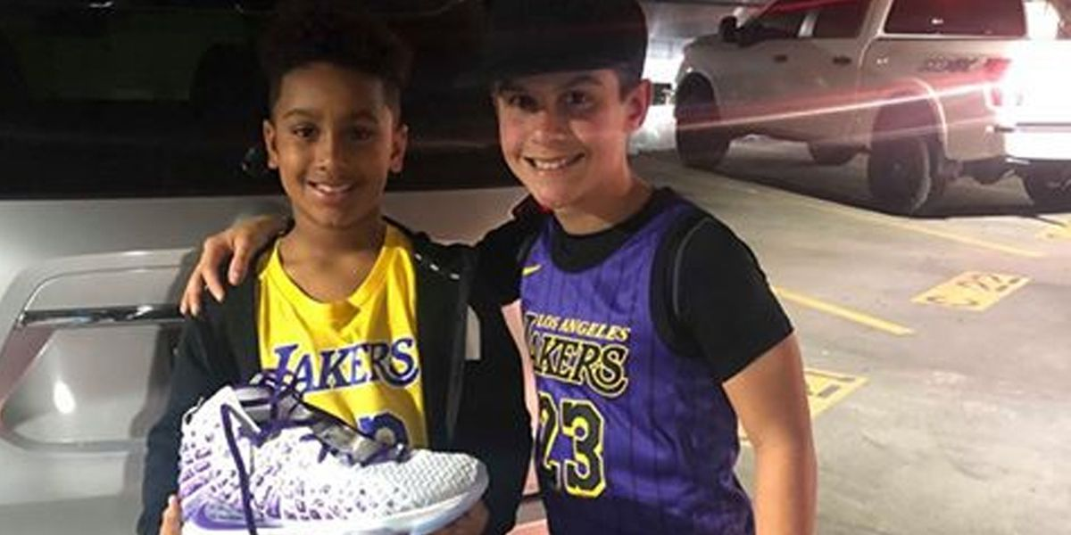 Louisiana birthday boy receives surprise from LeBron James