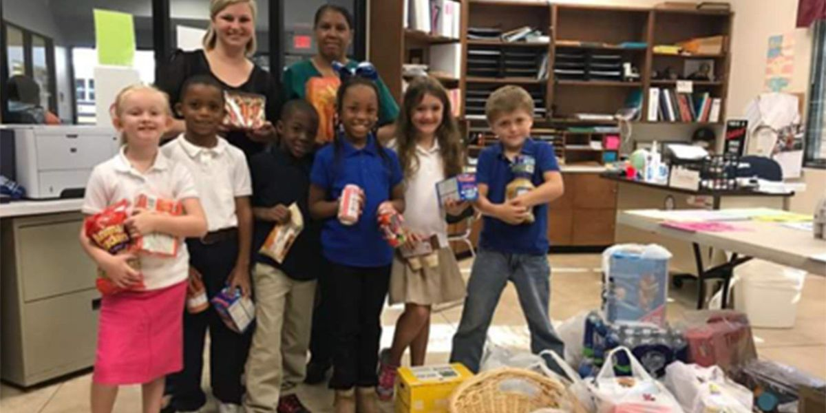 West Feliciana Parish Schools collects more than $6K for Harvey relief