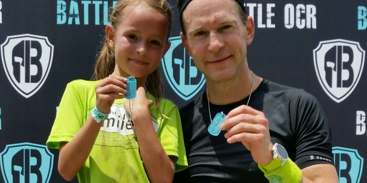 Dad defies the odds because of his daughter