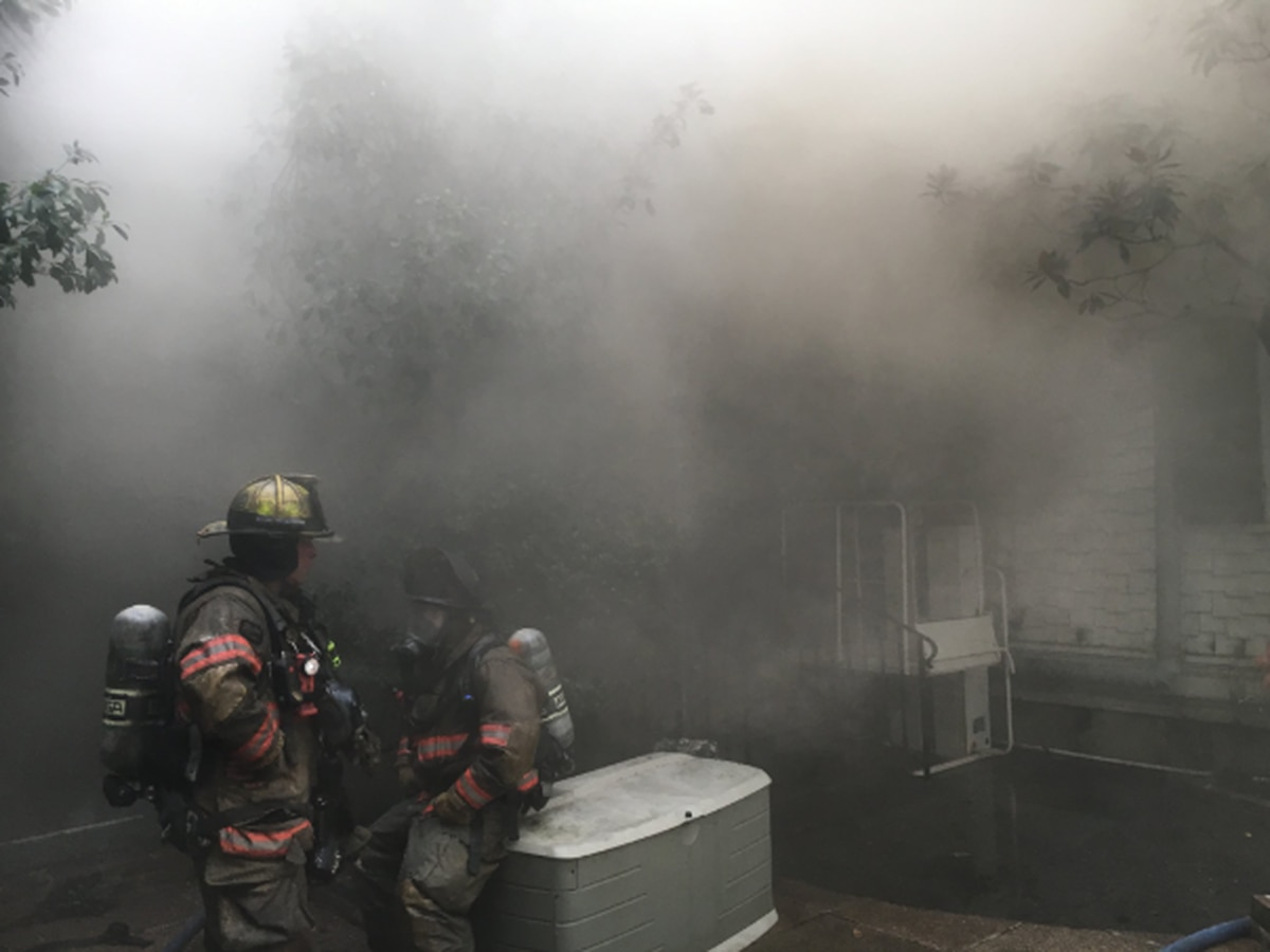 NOFD: 5-alarm fire burns at historic home in Garden District