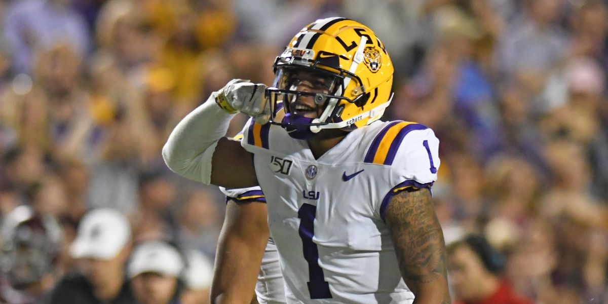 LSU receiver Ja'Marr Chase to enter National Football League draft