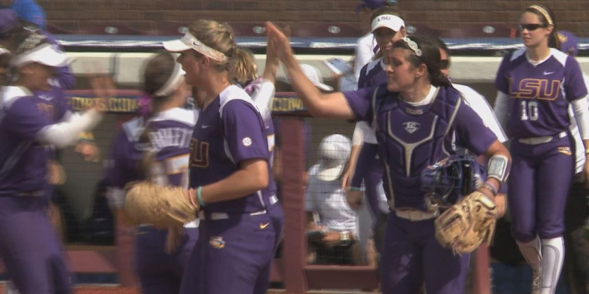 Simmons sparks LSU softball to upset at SEC Tournament