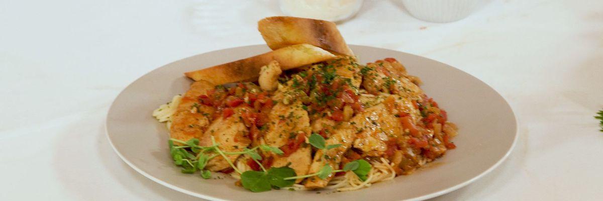 Chicken and Creole Tomato Pomodori