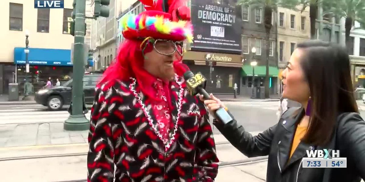 New Orleans Mardi Gras 9News This Morning WBXH - 7:30 a.m.