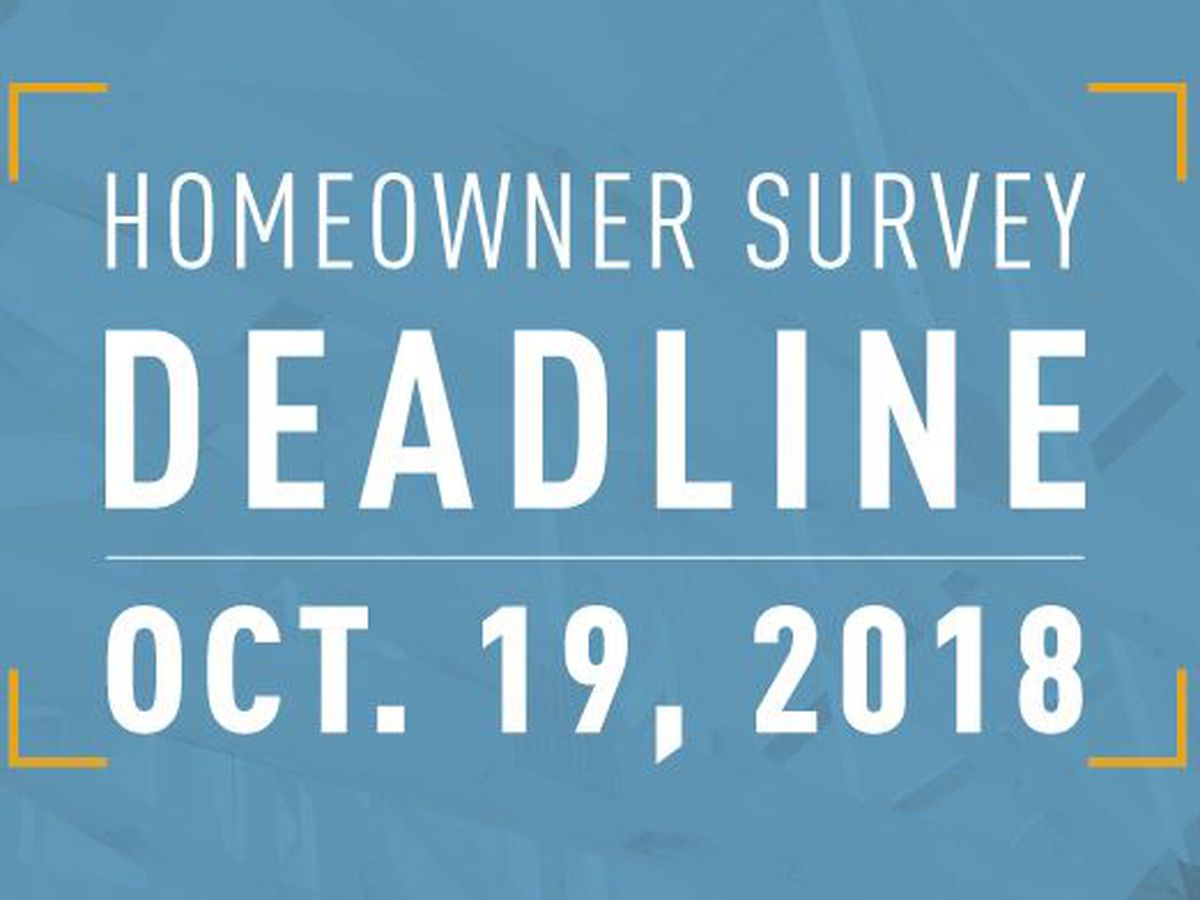 Restore LA survey deadline is Friday, October 19