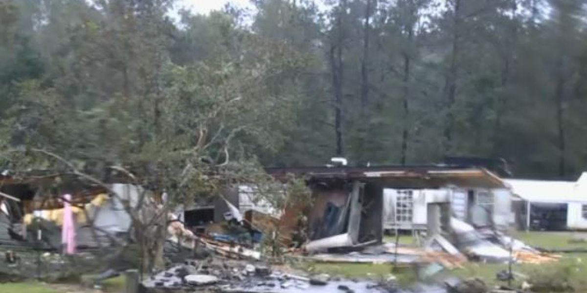 Tornado damage reported in Washington Parish, two sent to hospital