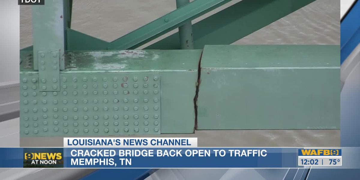 Mississippi River near Memphis reopens to barge traffic under damaged bridge