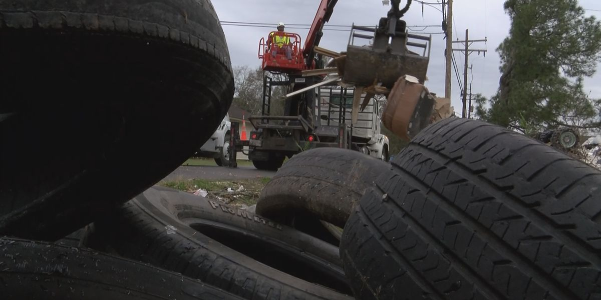Officials working to reduce illegal dumping across the parish