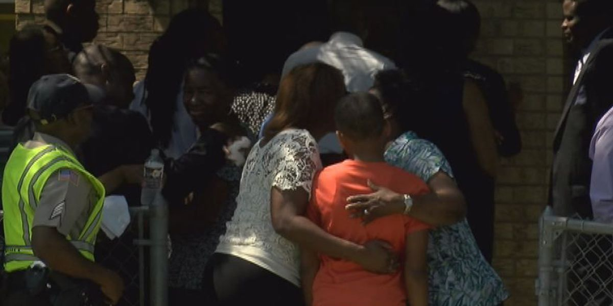 Many supporters attend funeral of Talaija Dorsey