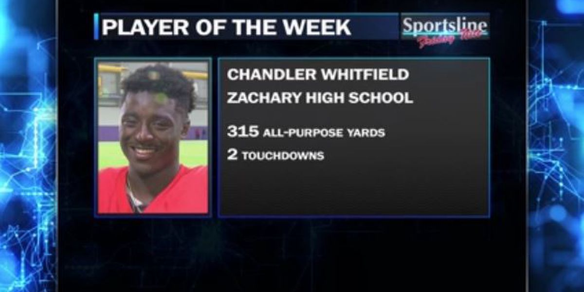 Sportsline Player of the Week: Zachary QB Kelion Brown & WR Chandler Whitfield
