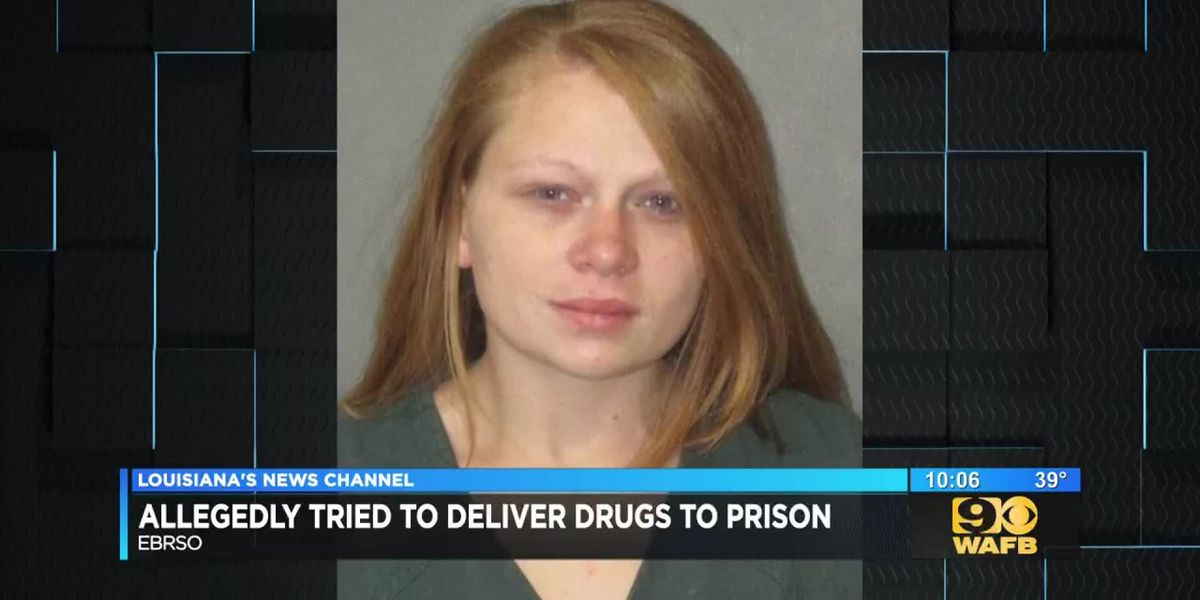 Woman arrested for planning to throw drugs over prison fence