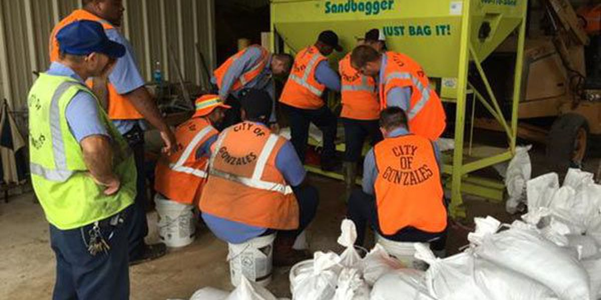 Parish agencies offering sand bags to help potential flood victims