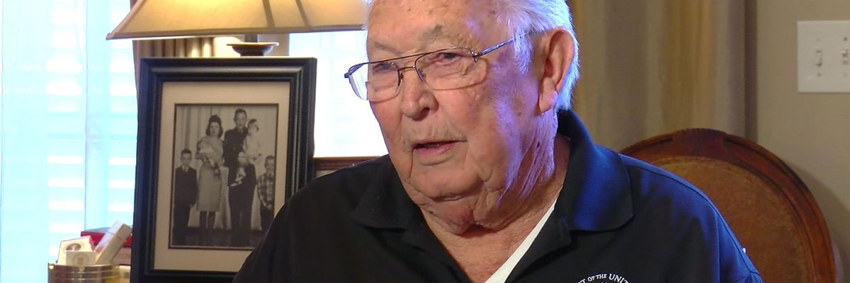 SHOWCASING LOUISIANA: Mr. Whitehead recounts serving on Air Force One under three presidents, including JFK