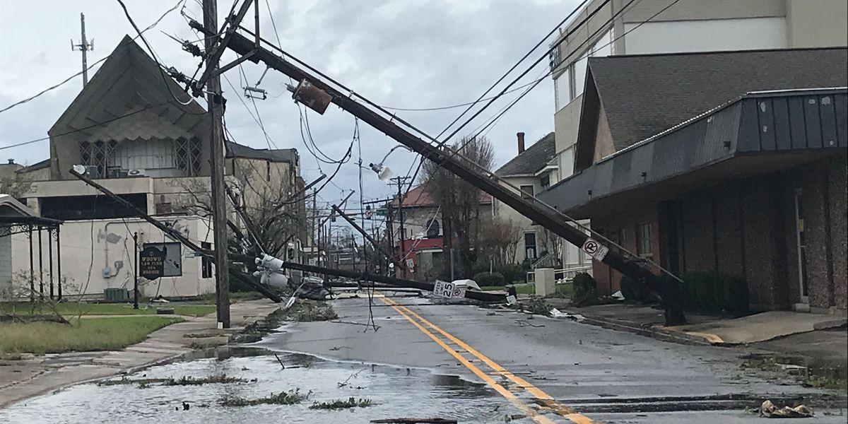 PHOTOS/VIDEOS: Storm Damage from Hurricane Laura across La.