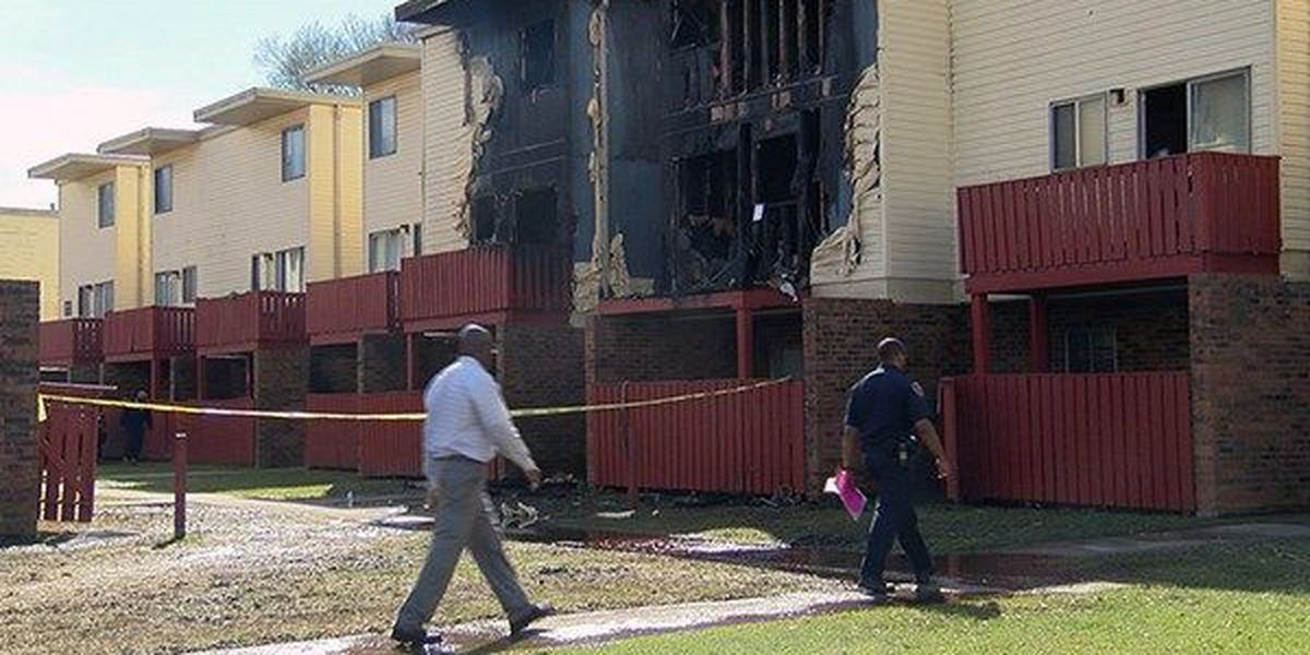 Red Cross helping families displaced by Cedarwood Apartments fire